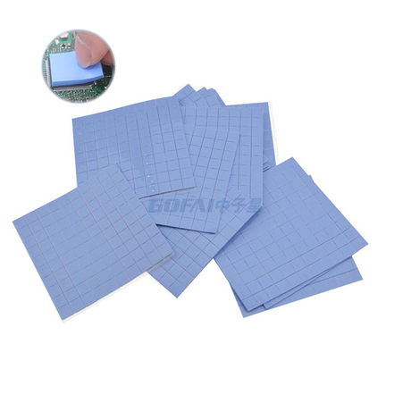Heatsink Cooling Adhesive Thermal Conductive Silicone Rubber Pads