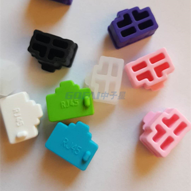 Silicone Rubber Dust Cover for 1394-9(Firewire800)