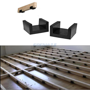 Rubber Joist Isolator Clip/Stud Isolators