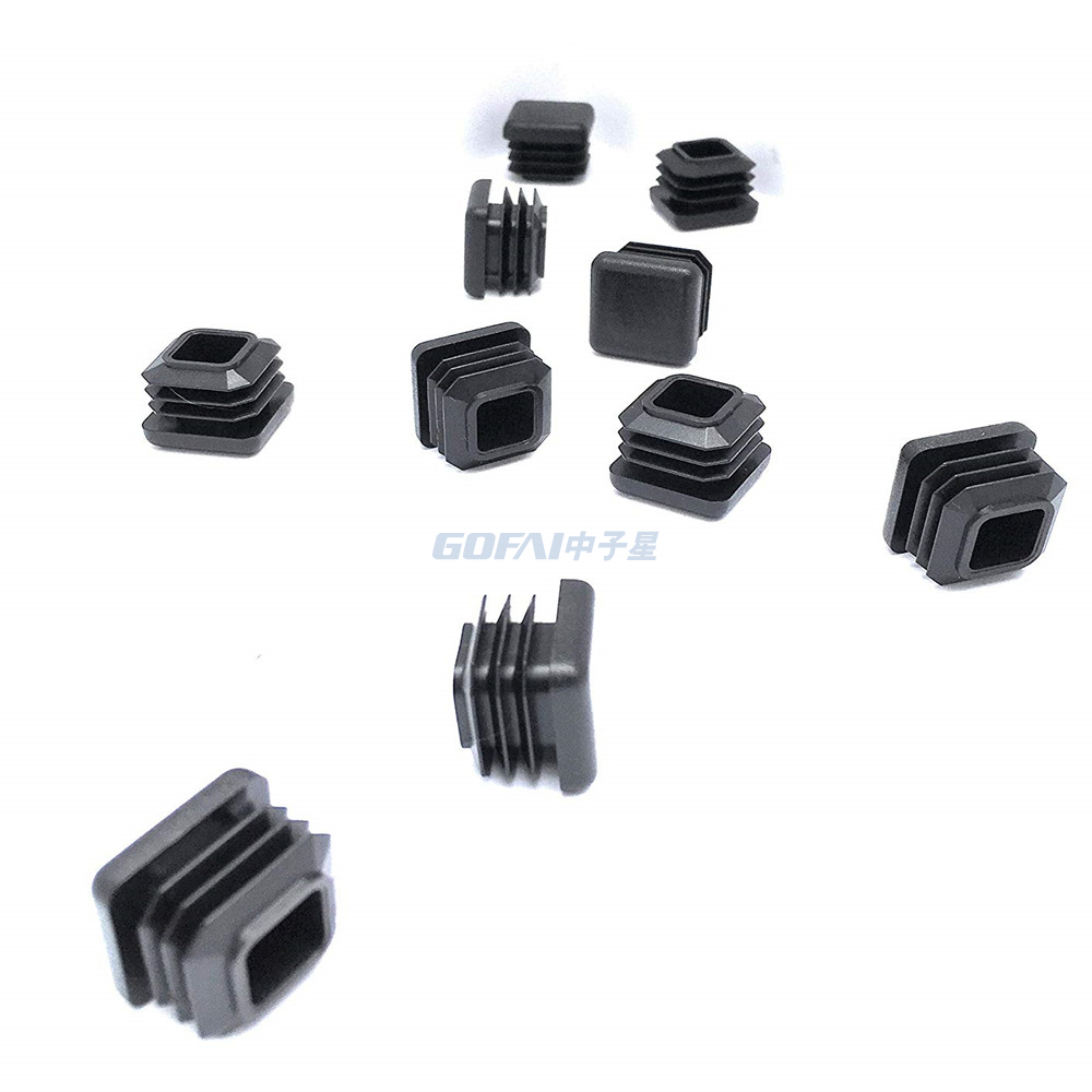 Round Square Furniture Tube End Caps Plugs Inserts