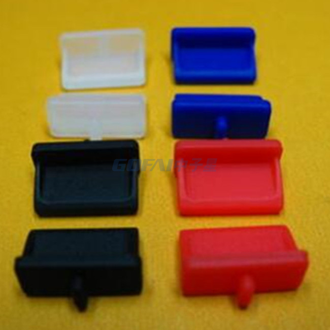 Laptop Silicone Rubber Dust Cover Anti Dust Plug USB VGA HDMI End Caps