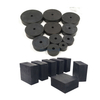 Customized Anti Vibration Shock Absorber Rubber Block Pad